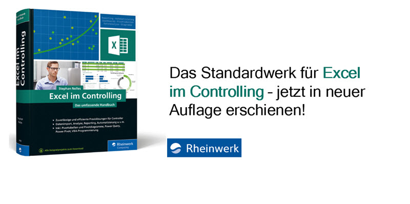 Buch Excel im Controlling