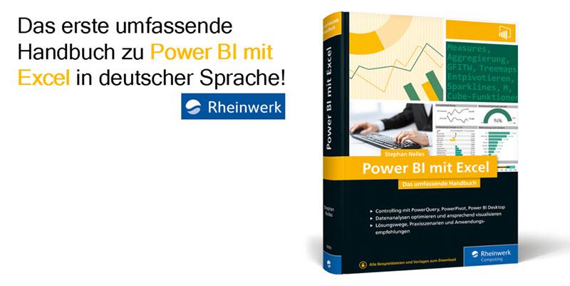 Buch Power BI mit Excel